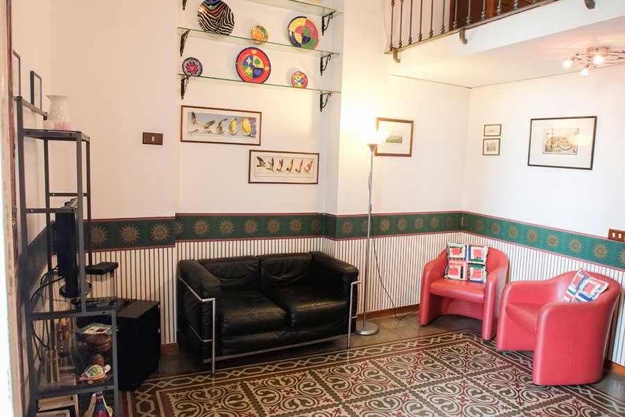 Salotto appartamento Villa Ocsia